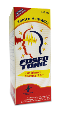 Fosfotonic jarabe - frasco 240 ml
