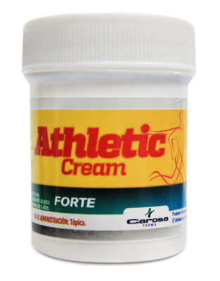 Athletic cream Forte - tarro x 1 oz